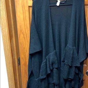 Black Lauren Conrad shawl